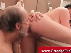Loni evans fucked by grandpa in a wc