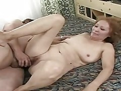 Very old bitch getting banged by her hubby