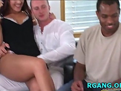 Wonderful group sex scene