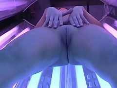Sunbed Masturbation Session 5