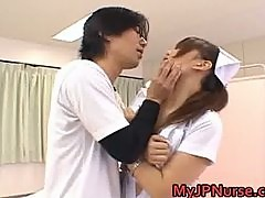Ai Sayama Naughty Asian nurse is horny part6