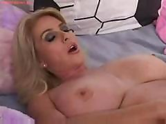 Busty Blonde Milf Squirting