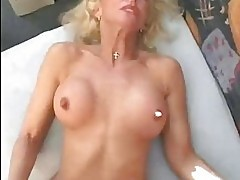 Mature German blonde wants to make a porn Sascha Production