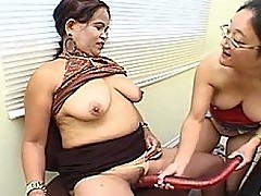 Miss Lee and Maria Get Small Dick Fucked