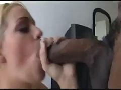 Busty Blonde Mia Eats His Black Cock And Then Gets Drilled Hard In The Ass