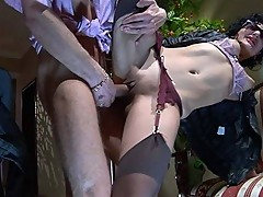 Inessa&Herbert red hot nylon movie