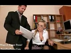 Office Desk Secretary Sex