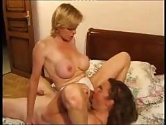 Mature Blonde Is Experienced In The Art Of Rough Fucking In Her Hairy Twat