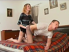 Ninette&Adrian amazing pantyhose movie