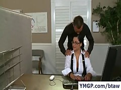 Big Tits at Work - Sexy Women in Reality HD Videos 35