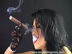 Sexy Smoking Sirens - Cigar Elegance 1