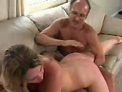 Botch spreads legs for pussy fingering