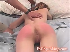 Hot Teen Ass Spanked 2