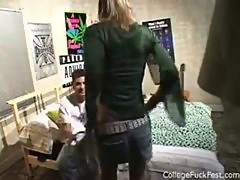 College Hottie Gets Fucked!!