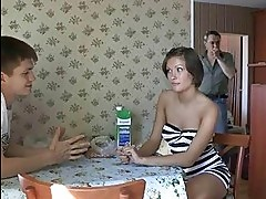 Guy bangs her as hard as nobody