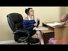 Naughty Teacher Gets Fucked by Student and Gets Pussy Creamed