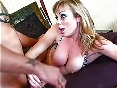 Adrianna Nicole throats cock before taking it deep in her po...