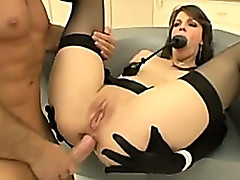 Bobbi Starr Sodomized In The Workshop