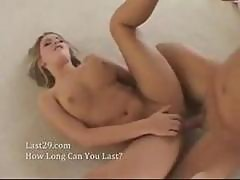 Hot Young Blonde Christie Lee Likes Riding That Cock On The Balcony