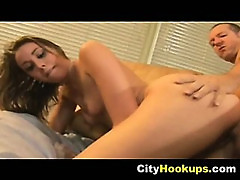 Sexy Petite Brunette Babe Delilah Strong Cum So Good