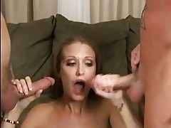 Raunchy whore Hailey young gets her juicy moist twat stuffed...