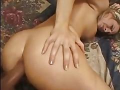 Saucy whore Harmony Rose gets her ass fucked before getting ...