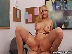 Julia Ann Hints To Student To Eat Her Pussy To Pass Her Class