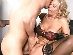 Julia Ann is loving the massive dick fucking her real good u...