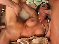 Kaylynn fucks 3 older men
