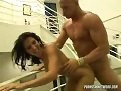 Christian Xxx Gets Busty Lezley Zen And Fucks Her Hardcore