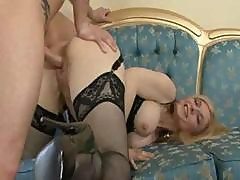 Epic Nina Hartley Takes It In The Ass