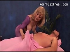 Nina Hartley fucking young stud