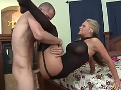 Hot Blonde MILF Phoenix Marie Getting Fucked Doggystyle