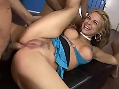 Sarah Vandella the big ass slut fucked by group