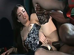Incredible bondage scene with a young Sasha Grey