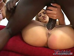 Tiffany Holiday is a gift for big black cock