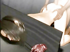 Tied up 3d hentai girl Tifa getting fucked