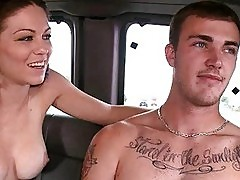 Bisexual doggy style sex in the car