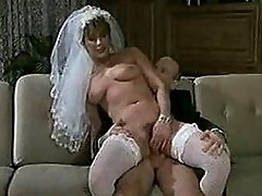 Old dude fucking some other guys bride
