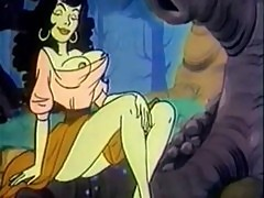 Hot cartoon characters having wild hardco ...