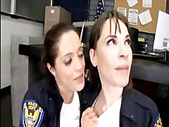 2 Female Police Officers Enforce The...