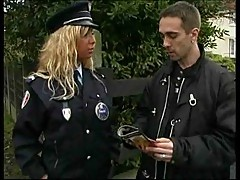 Policewoman banged hard up hot cumming
