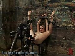 All Sort Of Punishmet For a Tattooed Blonde In Extreme BDSM Vid