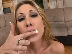 Tiffany Minx Degluting Sperm After Gangbang